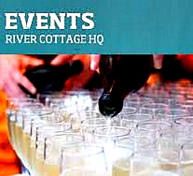 New Years eve bookings for River Cottage